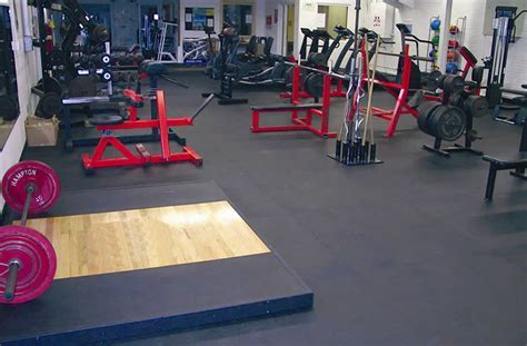 3/8 inch Rubber Gym Tiles   Interlocking Gym Floor