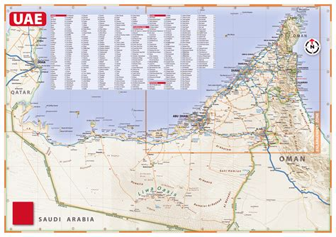 maps  united arab emirates detailed map  uae
