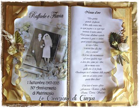 lettere 50 anni di matrimonio frasi anniversario nozze d oro
