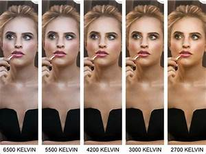 The Colour Temperature Guide To Lighting  U0026 Make Up
