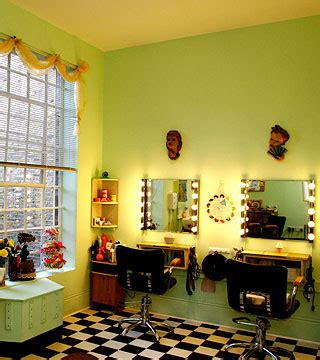 vintage salon decor ideas a midwestern living in getting a vintage haircut