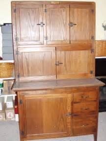 antique oak hoosier cabinet ebay