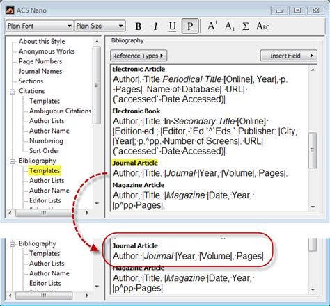 acs template solved problem with bibliography formatting endnote x4