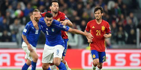 Pour la quatrième fois consécutive, l'italie et l'espagne vont s'affronter dans un euro de football. Mondial 2018-Qualifications : l'Italie arrache le nul ...