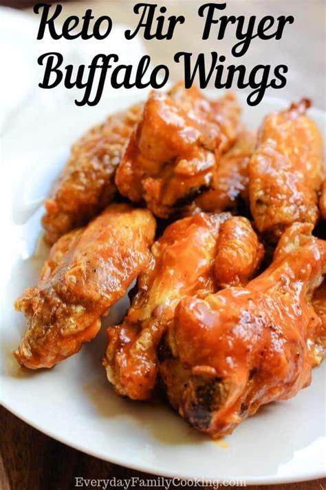 fryer air wings chicken keto sauce buffalo wing crispy franks recipe recipes gluten frank cook
