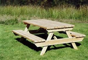 Table Jardin En Bois : table bois exterieur pas cher salon de jardin 2016 ~ Teatrodelosmanantiales.com Idées de Décoration