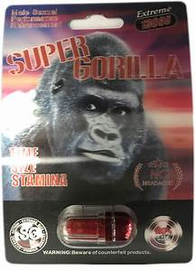 Super Gorilla 25000 Extreme Male Sexual Performance Enhancement Pill  U2013 Enhanceme