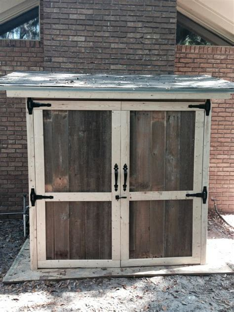 build outdoor shed white reclaimed wood outdoor storage shed diy projects