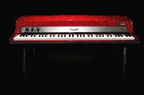 vintage vibe tine piano  deluxe active sparkle red
