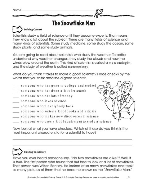 New Free Printable Science Worksheets Downloadtarget