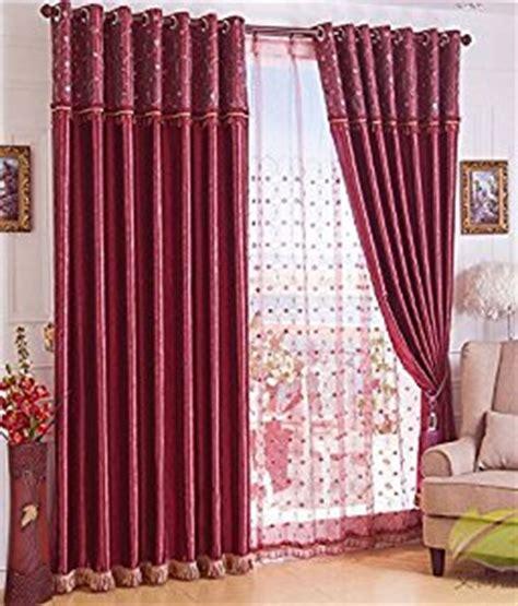 amazon com solid embossed satin curtain living room