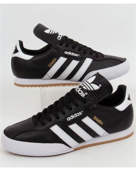 Original Blue Black adidas samba trainers black white adidas originals