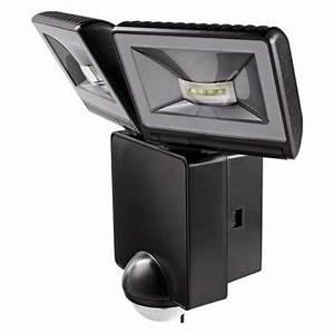 Projecteur Exterieur Avec Detecteur De Mouvement : theben luxa projecteur ext rieur led 2x8w noir avec ~ Edinachiropracticcenter.com Idées de Décoration