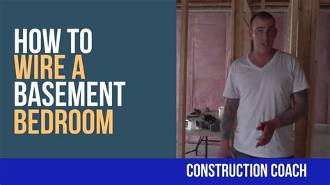 how to wire a basement bedroom diy