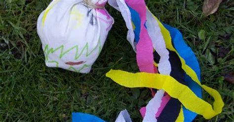 schleuderball selbstkasteiung basteln mit kindern