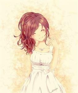 petite fille a robe blanche mangas dessins pinterest With robe blanche petite fille