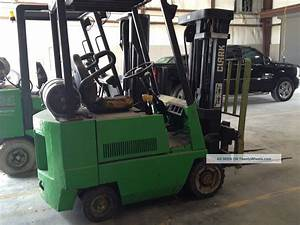 Clark Forklift Model Gcx15e