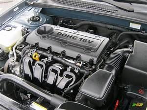 2009 Hyundai Sonata Se 2 4 Liter Dohc 16v Vvt 4 Cylinder
