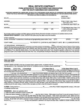 bill  sale form illinois residential real estate
