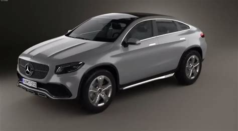 Mercedes Benz Concept Coupe Suv In 3d Looks A Bit Porky