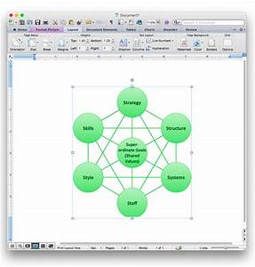 Add A Bubble Diagram To A Ms Word Document