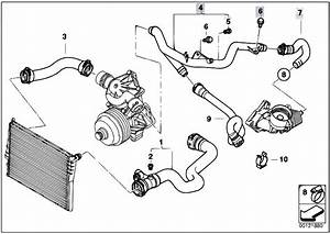 Original Parts For E53 X5 3 0d M57n Sav    Engine   Cooling System Water Hoses 2