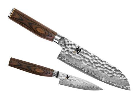 victorinox kitchen knives fibrox shun premier santoku knife starter set 2 cutlery