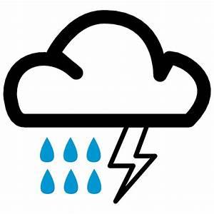 Heavy Rain Weather Symbol | www.pixshark.com - Images ...