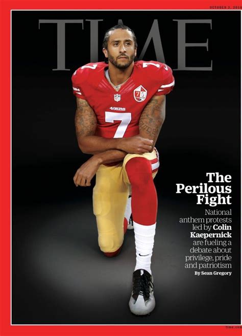 Photos Colin Kaepernick On Cover Of Time Magazine Bso