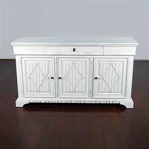 Made Com Sideboard : handmade antiqued white solid hardwood sideboard buffet ~ Michelbontemps.com Haus und Dekorationen