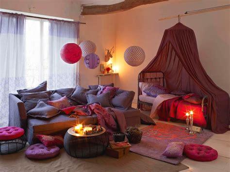 chambre boheme chic décoration intérieur bohême teva deco une chambre
