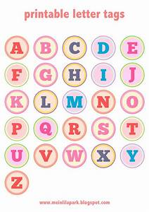 free printable alphabet letter tags diy buchstaben With correspondence labels