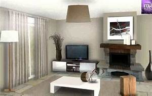 deco interieur moderne youtube With deco moderne