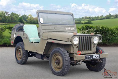 willys jeep truck green 1952 willys jeep green