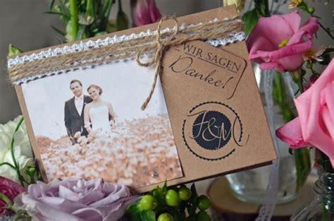 danksagungskarte hochzeit vintage inkl druck von majalino