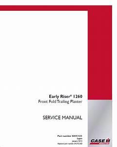 Case 1260 Front Fold Trailing Planter Pdf Manual