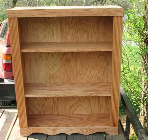 solid oak bookcase woodworking blog  plans