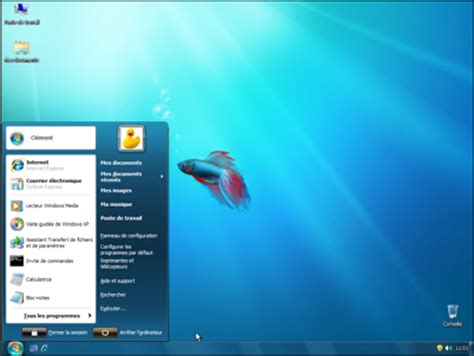 windows 7 bureau pc astuces transformer windows xp et vista en windows 7