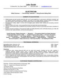 resume format for industrial electrician industrial electrician sle resume search results calendar 2015