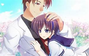 Romantic cute anime couples images | animated couple pics wallpapers