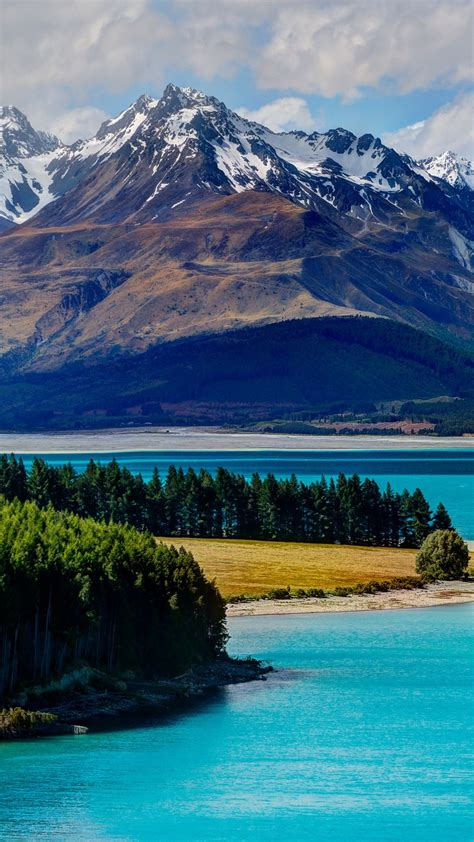 Wallpaper Lake Tekapo, 5k, 4k wallpaper, South Island, New ...