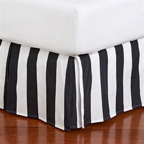 38361 black bed skirt the emily meritt circus stripe bedskirt pbteen