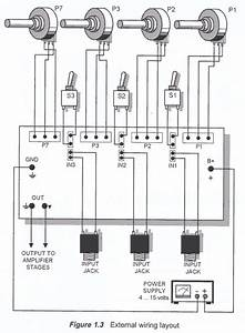 Audio Mixer External Wiring
