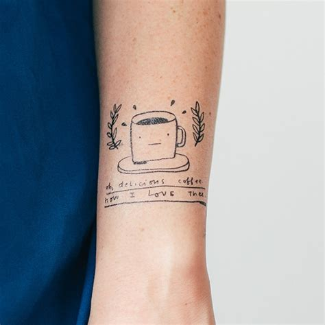 5 Totally Temporary Coffee Tattoos From Tattly