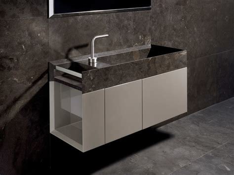 Bathroom Counter Revit by Mobile Lavabo Sospeso In Marmo Con Ante Onsen Mobile