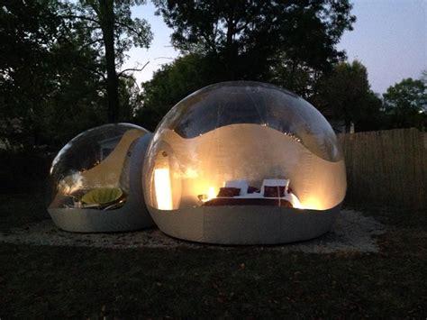 chambre a bulle nuit insolite et romantique dans une bulle antonin