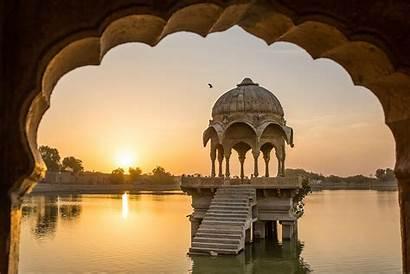 Jaisalmer India Lake Travel Gadisar Tours Tour