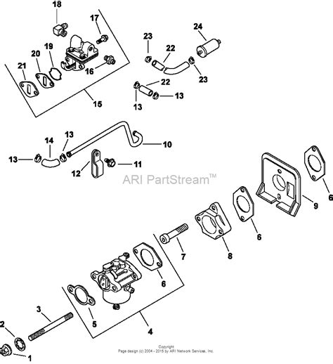 kohler ch  cub cadet  hp  kw parts diagram