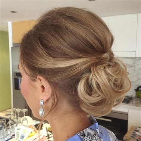 low curly hairstyles best 40 low bun updo hairstyles ideas therighthairstyles