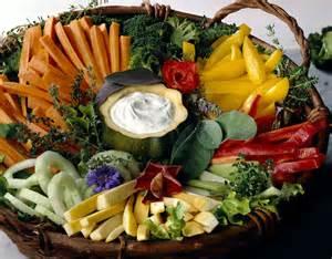 Vegetable Crudite Presentations